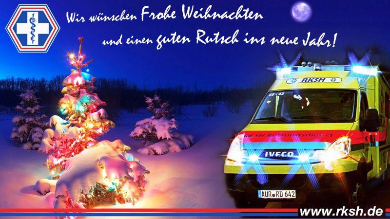 Frohe Weihnachten - RKSH - Rettungsdienst, Krankentransport und ...